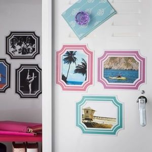 NWT PBteen Magnetic Decal Picture Frames